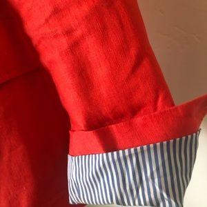 J. Crew Jackets & Coats - J. Crew Linen Jacket